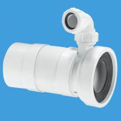 Water Hose For Kitchen Sink Average Cost To Remodel A Mcalpine 460mm Flexible Pan Connector Spigot Boss Wc-f23pv ...